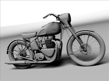 triumph 6t 1949 3d model 3ds max c4d obj 105307