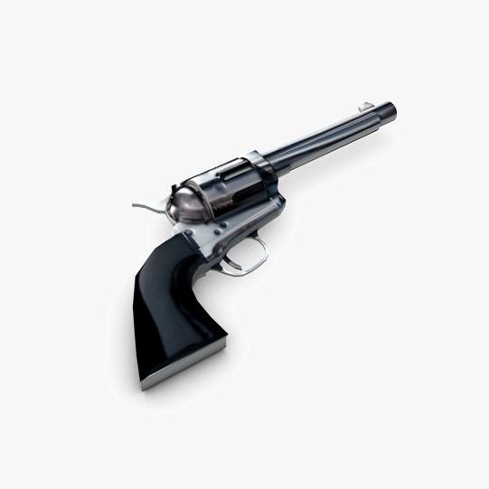 revolver 2 3d model 3ds max fbx c4d obj 138651