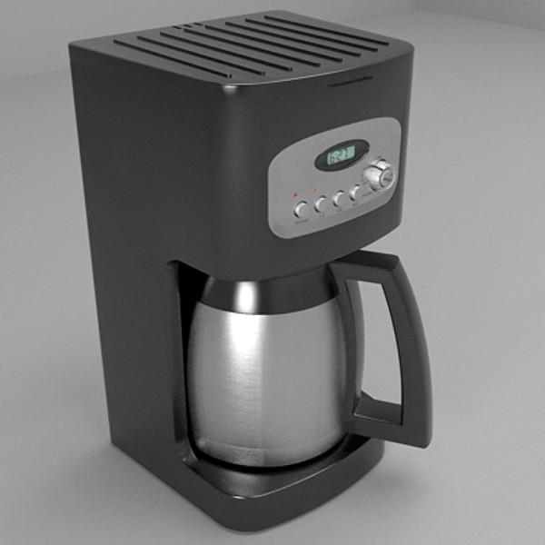 кофе машин 3d загвар 3ds fbx skp obj 115286
