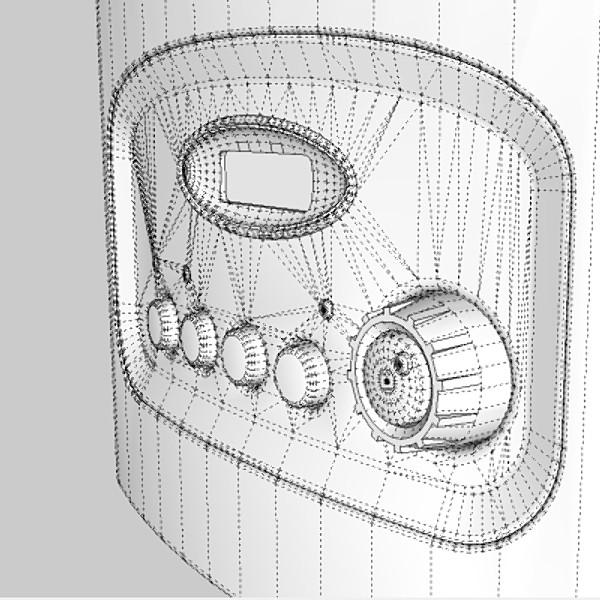 coffee machine 3d model 3ds fbx skp obj 115295