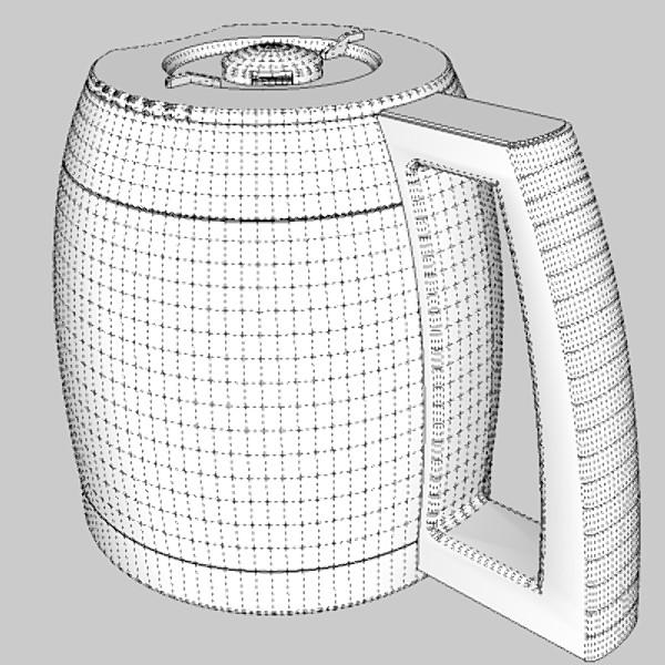 кофе машин 3d загвар 3ds fbx skp obj 115297