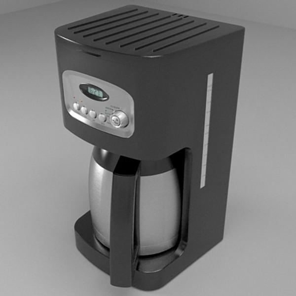 Coffee Machine 3d Model Buy Coffee Machine 3d Model