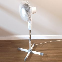 Freestanding fan ( 215.56KB jpg by Pixelblock )