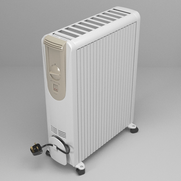 portable heater 3d model 3ds fbx skp obj 117206