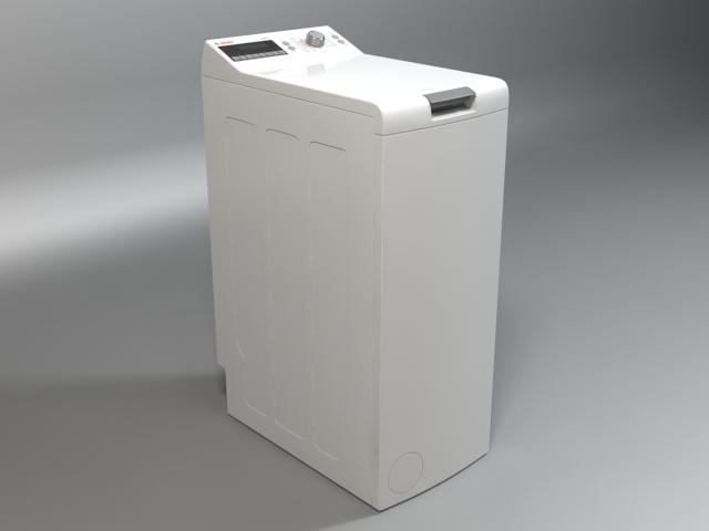 washer bosch logixx 6 wot24454by 3d model 3ds max fbx obj 158046