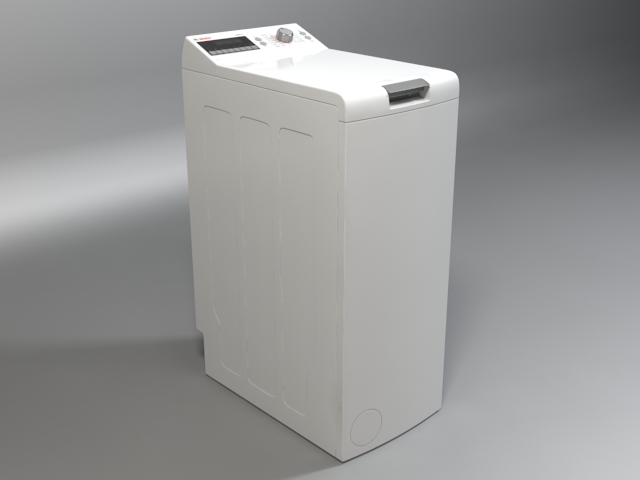 машина за перење logixx 6 wot24454by 3d модел 3ds макс fbx obj 158046