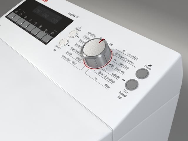 washer bosch logixx 6 wot24454by 3d model 3ds max fbx obj 158048