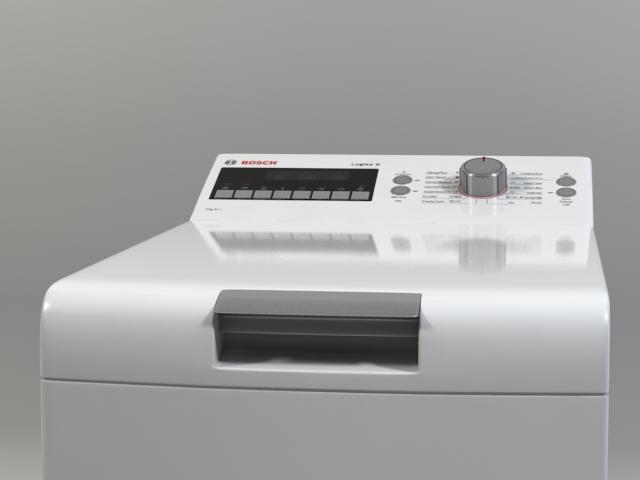 washer bosch logixx 6 wot24454by 3d model 3ds max fbx obj 158049