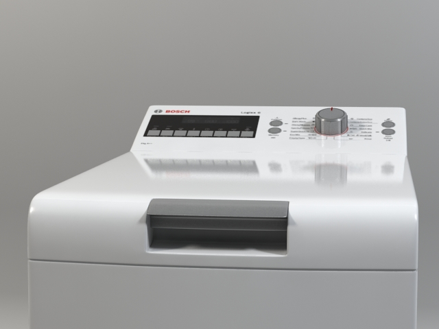 машина за перење logixx 6 wot24454by 3d модел 3ds макс fbx obj 158049