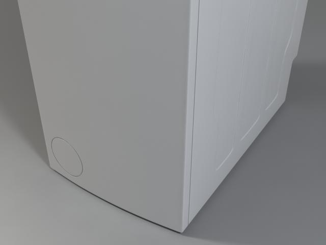 машина за перење logixx 6 wot24454by 3d модел 3ds макс fbx obj 158050