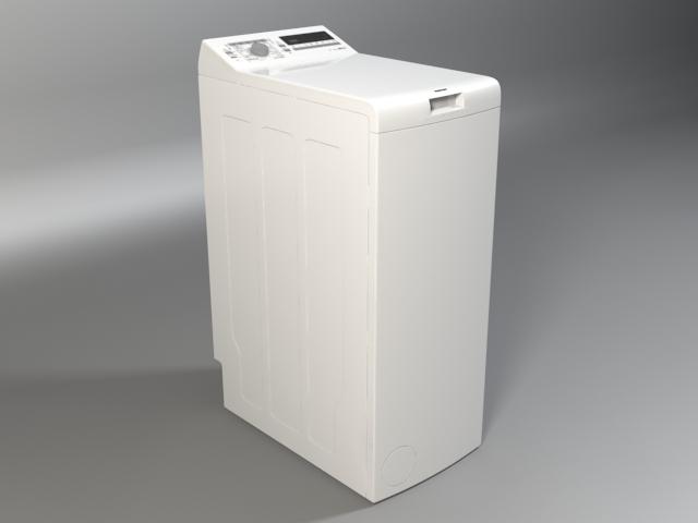 washer siemens iq 300 wp12t254by 3d model 3ds max fbx obj 158353