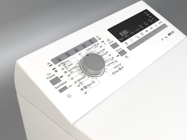 washer siemens iq 300 wp12t254by 3d model 3ds max fbx obj 158354