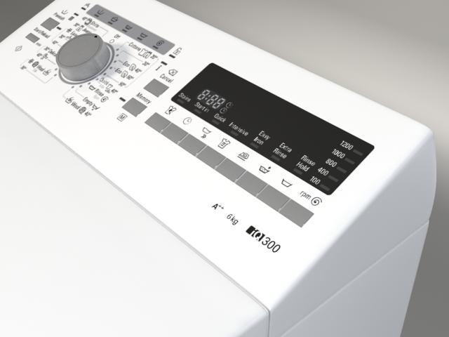 washer siemens iq 300 wp12t254by 3d model 3ds max fbx obj 158355