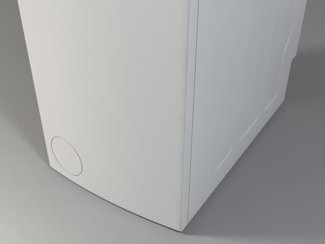 washer siemens iq 300 wp12t254by 3d model 3ds max fbx obj 158357