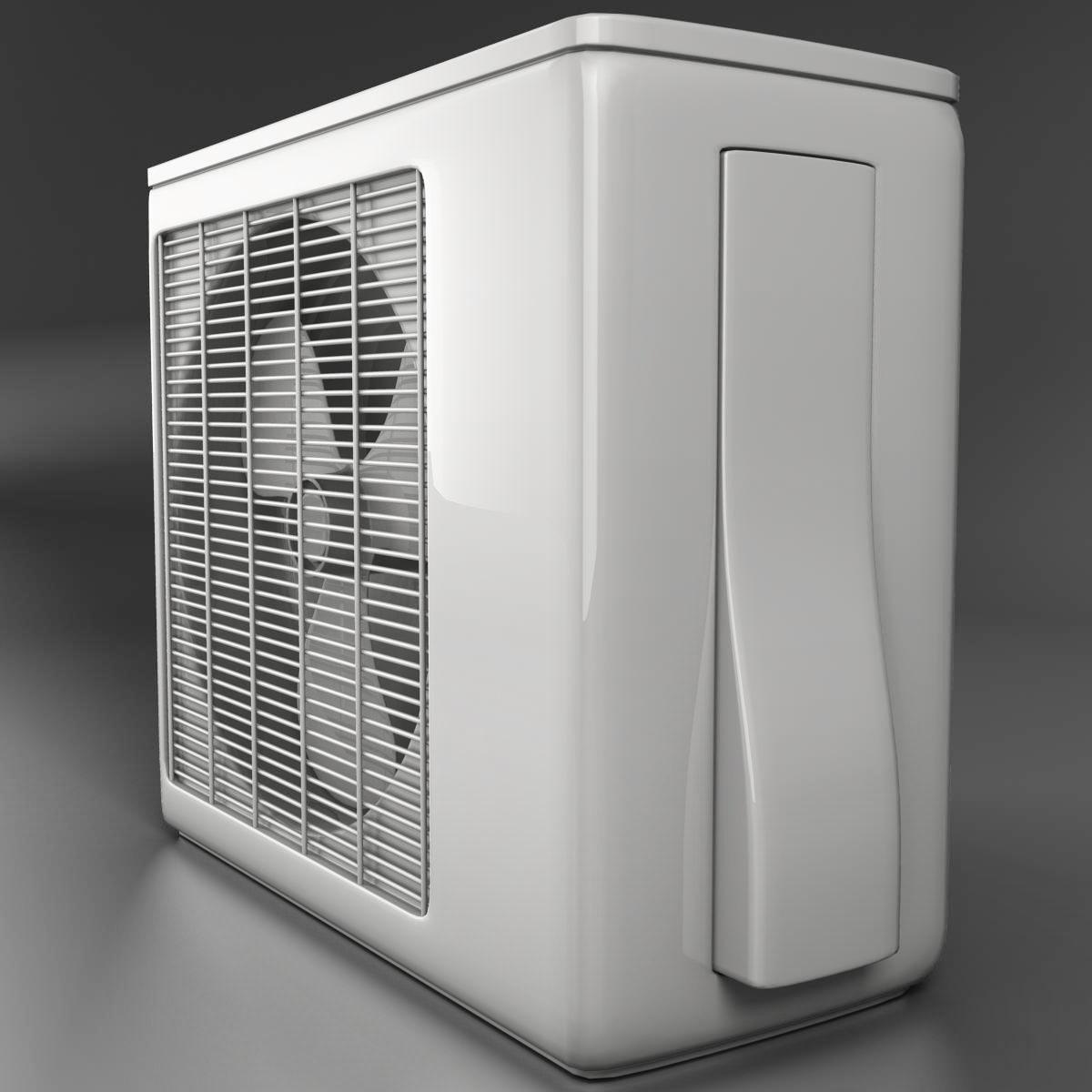 air conditioning 3d model 3ds max fbx c4d ma mb obj 159470