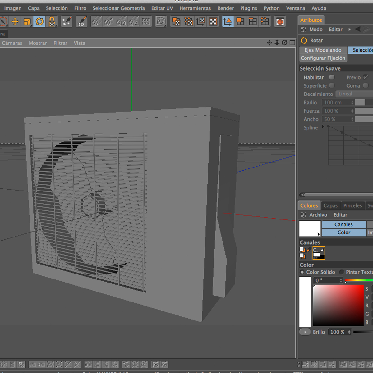 air conditioning 3d model 3ds max fbx c4d ma mb obj 159480