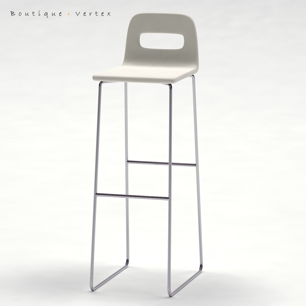 kitchen stool 01 3d model 3ds max dwg fbx obj 129670