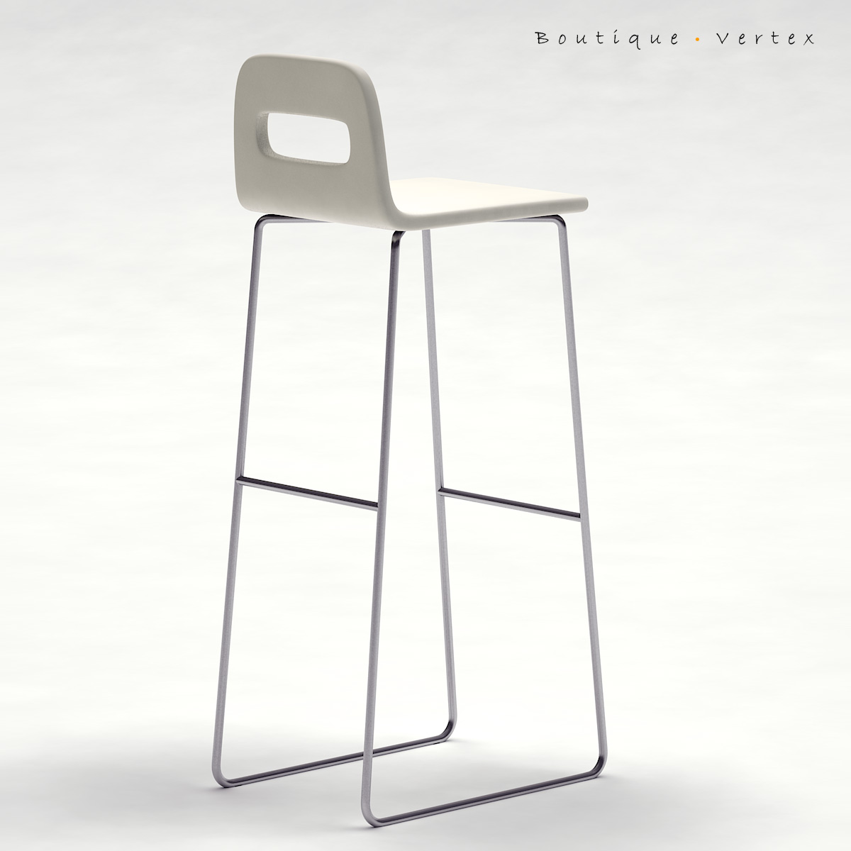 kitchen stool 01 3d model 3ds max dwg fbx obj 129671