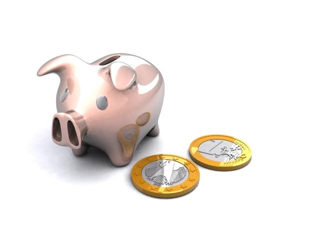 piggy-bank 3d model max 114633