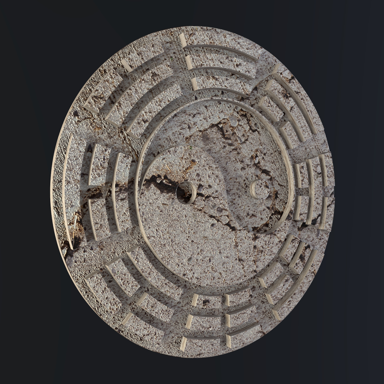 Yin Yang tákn 3d líkan blanda obj 116233