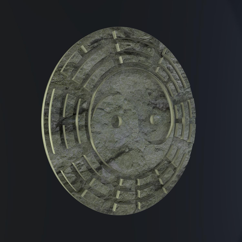 yin yang sign 3d model blend obj 116236