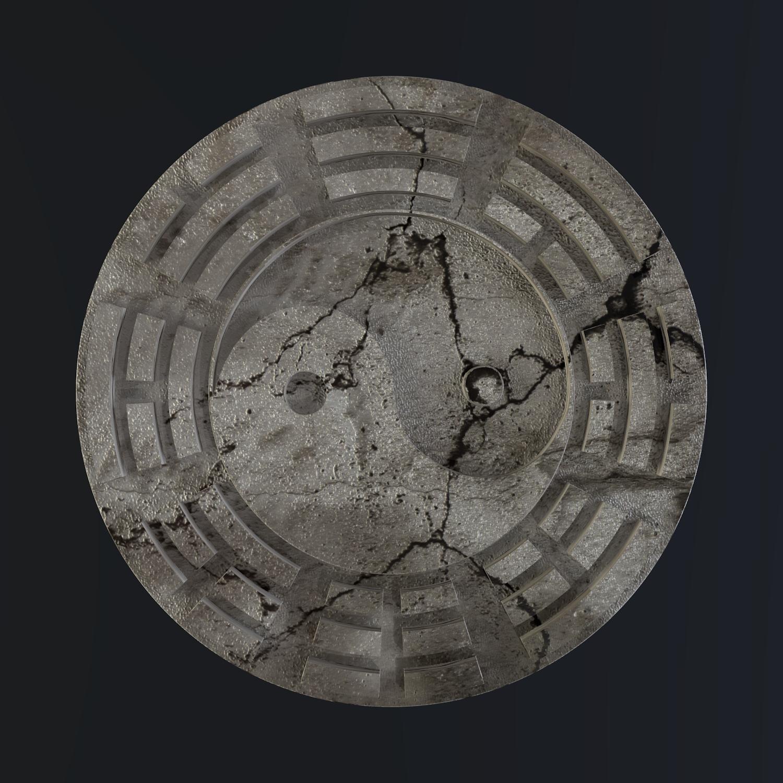 yin yang sign 3d model blend obj 116240