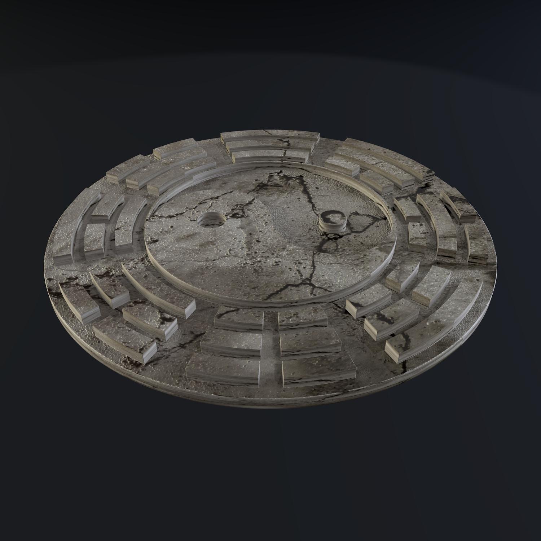yin yang sign 3d model blend obj 116241