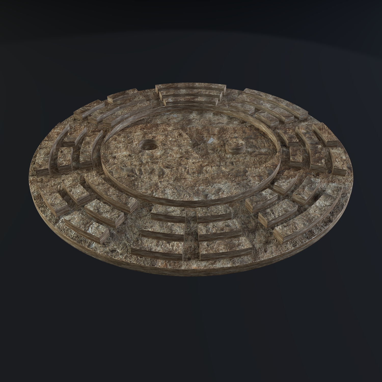 yin yang sign 3d model blend obj 116245