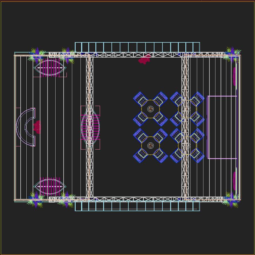 eksponēt stendu dizainu 016 3d modelis 3ds max dxf dwg fbx c4d ma mb hrc xsi faktūra obj 121556