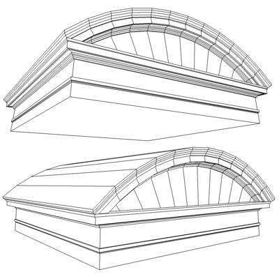 Arched And Gable Roman Tuscan Pediment Architrave 11306KB Jpg By Johnjohnson