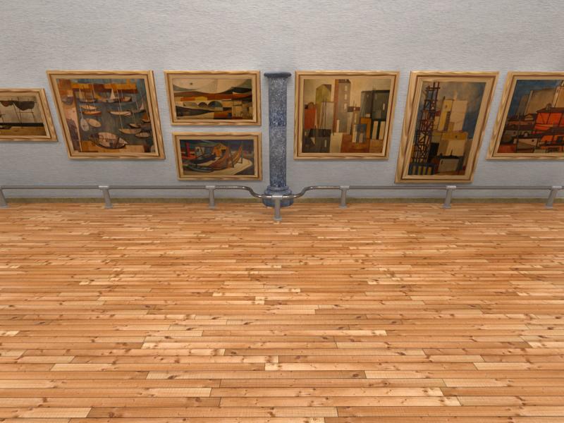 Exhibition Hall D Model : Exhibition hall d model flatpyramid