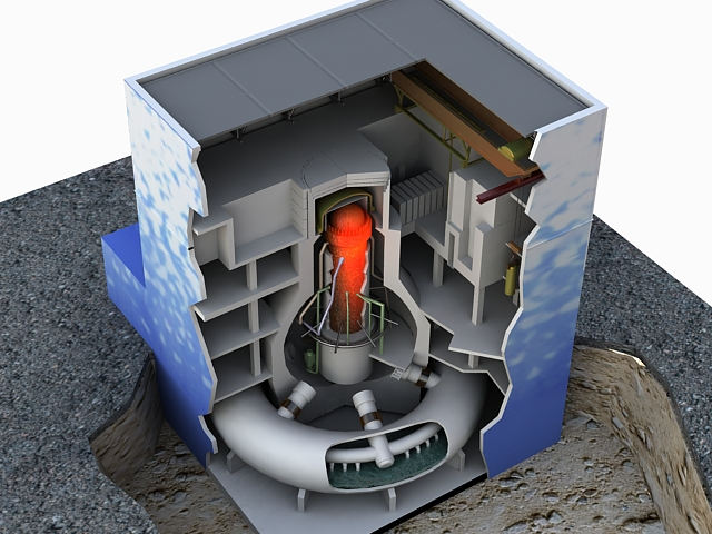 fukushima reactor 3d model max 113636