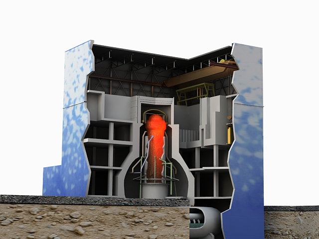 fukushima reactor 3d model max 113640