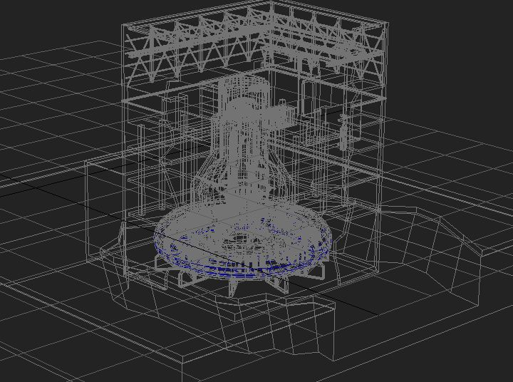 fukushima reactor 3d model max 113641