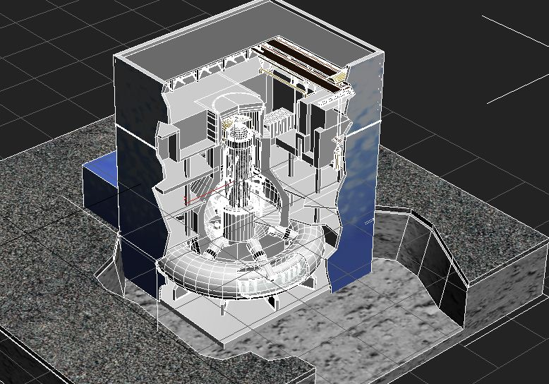 fukushima reactor 3d model max 113642