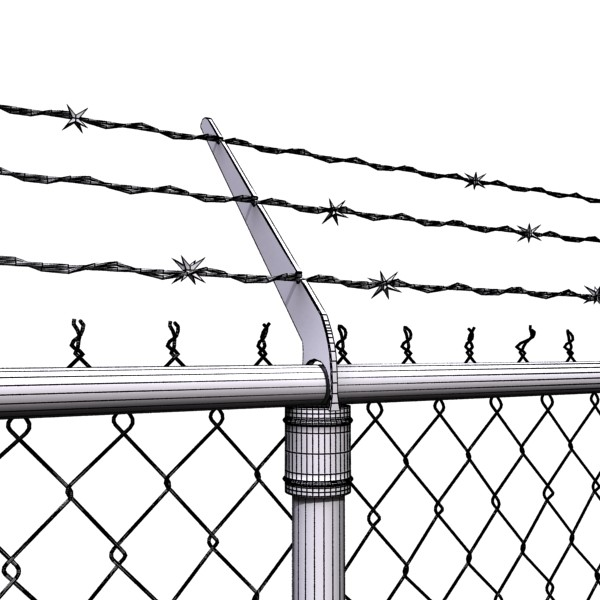 3D Model Chainlink fence Barbed wire High detail 3D Model – Buy 3D ...