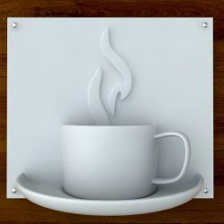 3d Printable Coffee sign STL OBJ ( 68.36KB jpg by sidnaique )