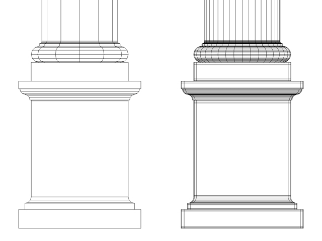 Roman Tuscan Column Entablature Pedestal 8418KB Jpg By Johnjohnson