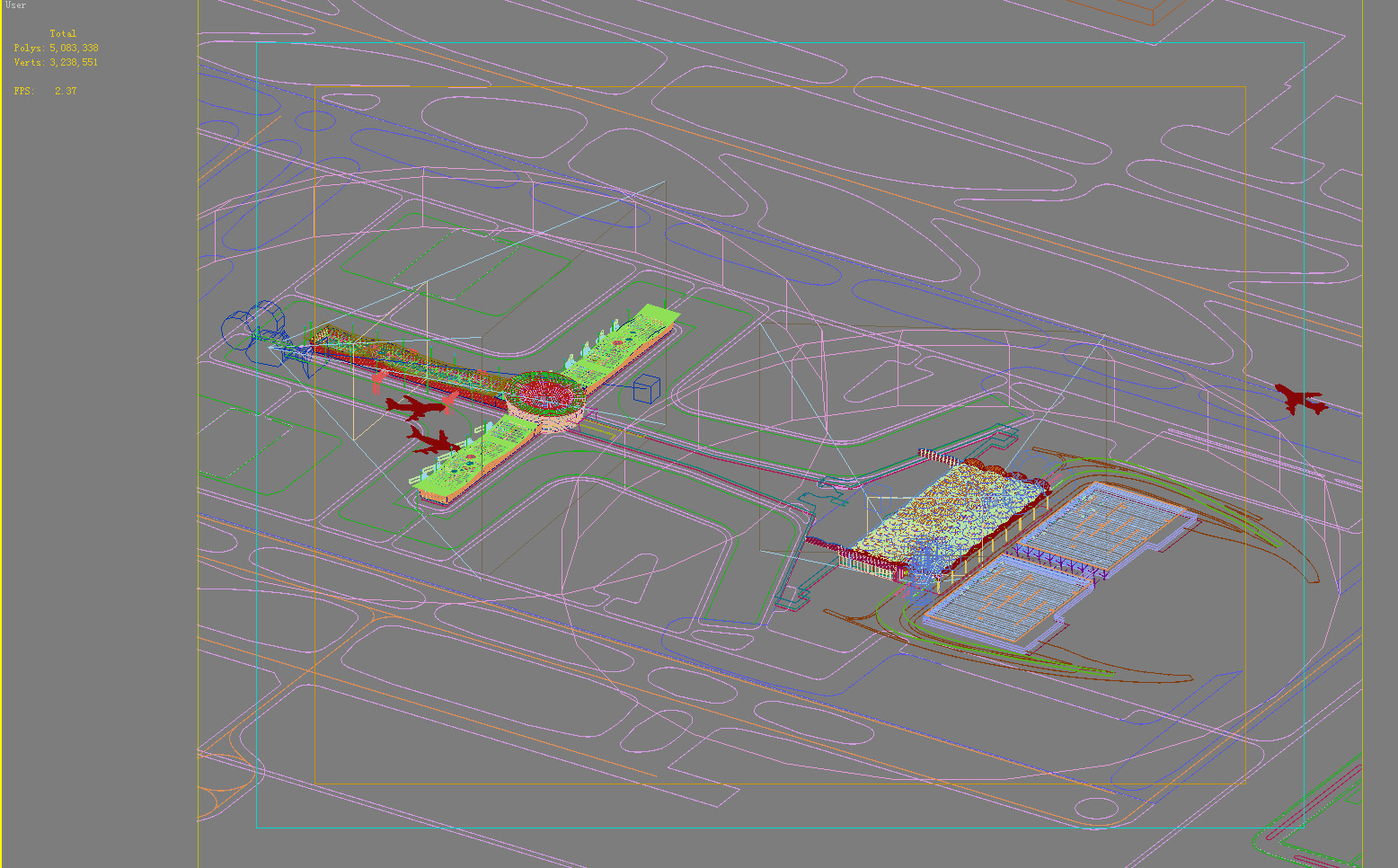 airport 09 3d model max psd 98323