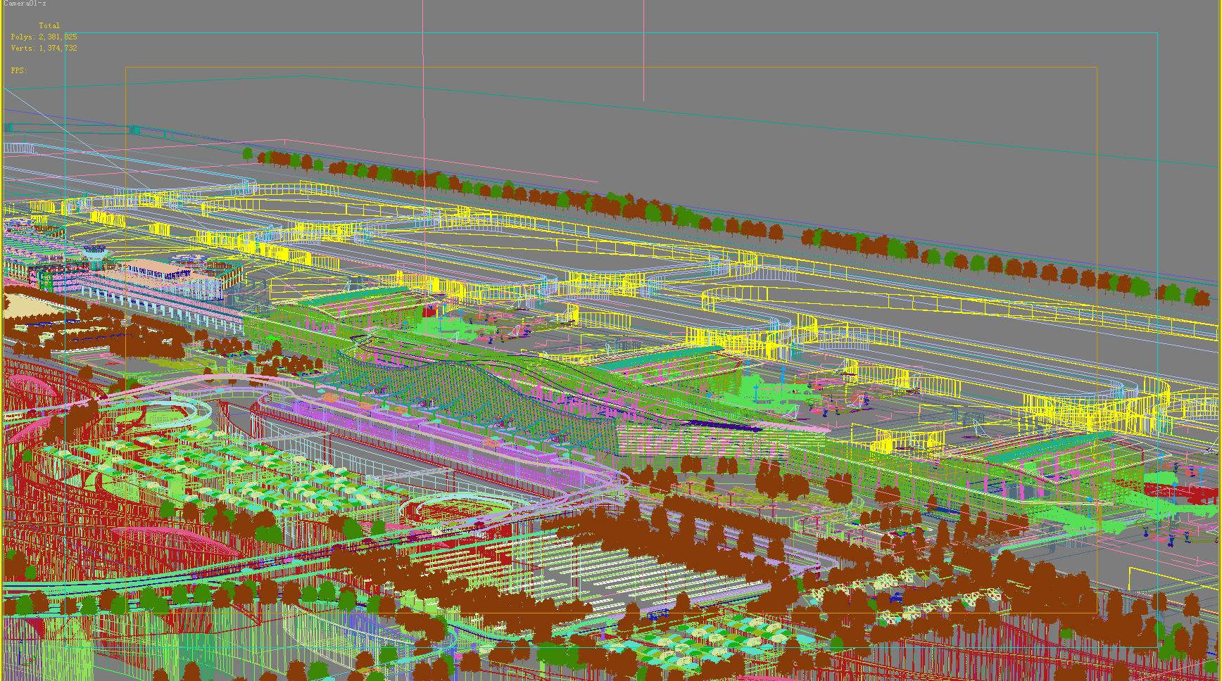 airport 10 3d model max psd obj 98318
