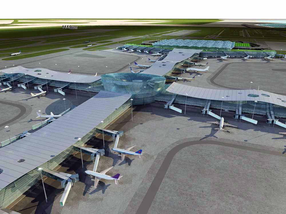 airport 12 3d model 3ds max 98302