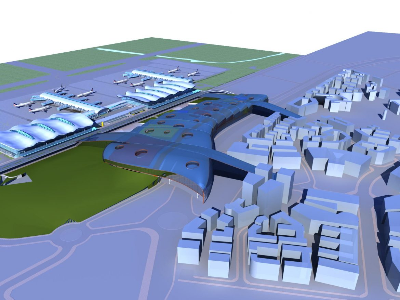 airport 13 3d model 3ds max 98325