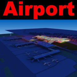 Airport 11 Night ( 618.04KB jpg by rose_studio )
