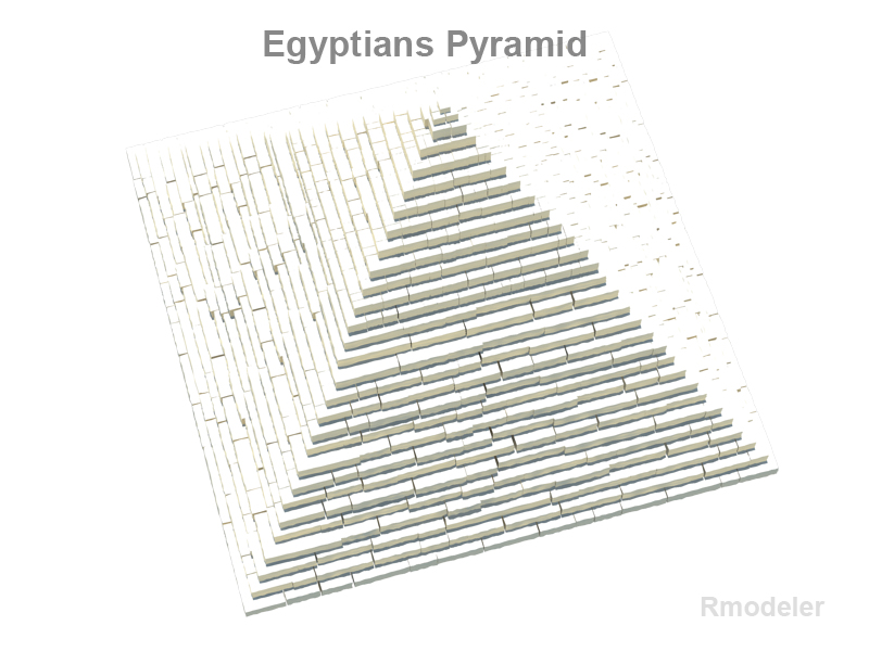 ancient egyptian pyramid 3d model 3ds fbx c4d lwo ma mb hrc xsi obj 119412