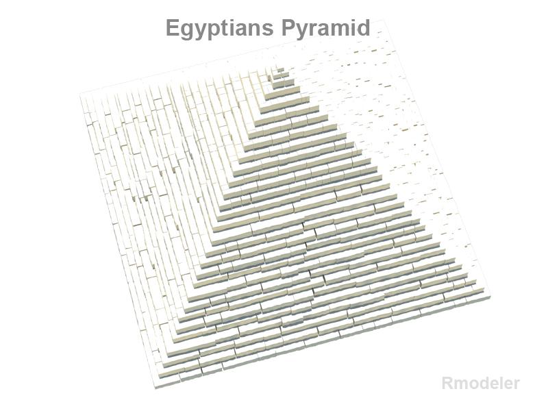 senās ēģiptiešu piramīdas 3d modelis 3ds fbx c4d lwo ma mb hrc xsi obj 119412