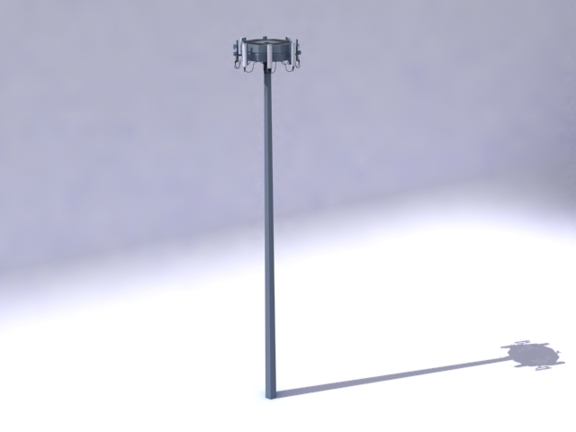 antenna 3d model 3ds max obj 138160