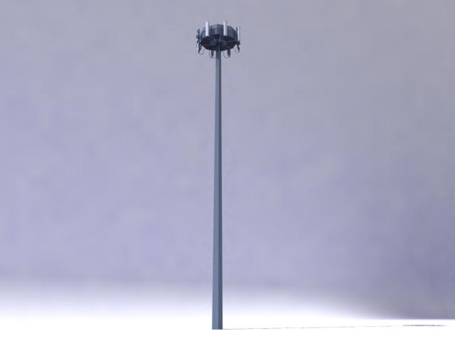 antenna 3d model 3ds max obj 138161