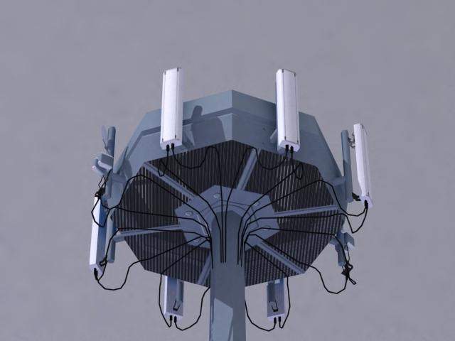 antenna 3d model 3ds max obj 138162