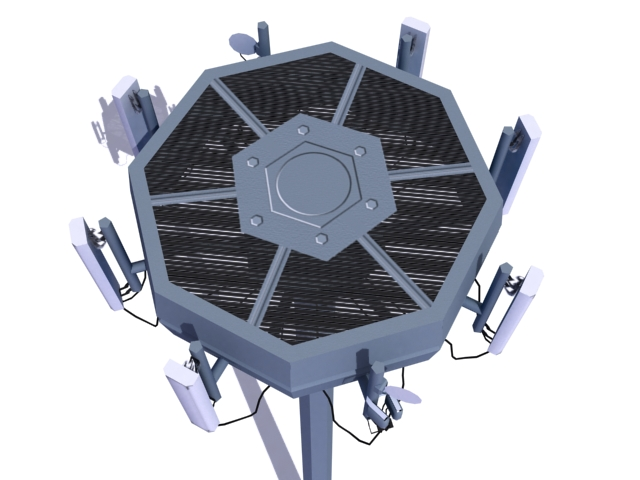 antenna 3d model 3ds max obj 138163