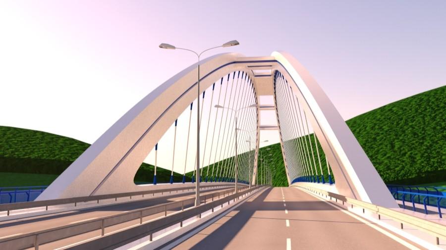 arched bridge 3d model 3ds max 148661